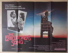 Executioners Song, Orig UK Quad Poster, Tommy Lee Jones as Gary Gilmore, '82